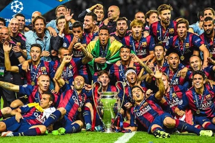 Barcelona - 5 lần vô địch Champions League