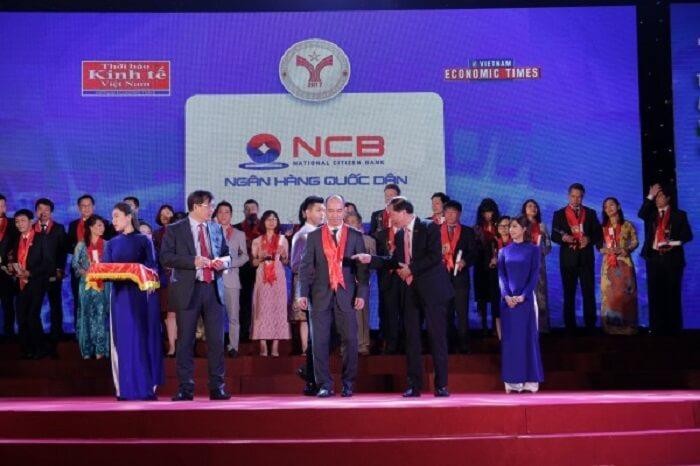 NCB nhận được nhiều giải thưởng danh giá