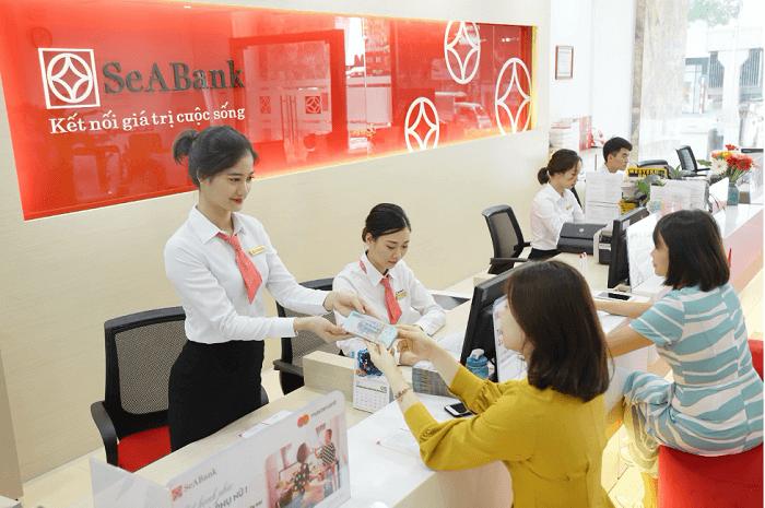 ngân hàng SeABank đều làm việc cả ngày từ thứ 2 đến thứ 6